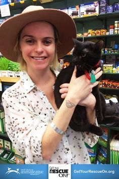 Orange Is the New Black's Taryn Manning got her rescue on and adopted a shelter pet! #GetYourRescueOn too at www.getyourrescueon.org!
