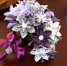 Kusudama flower bouquet by ohhappycrafts on Etsy, $45.00
