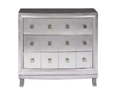 Silver 3 Drawer Chest by CORT | cort.com