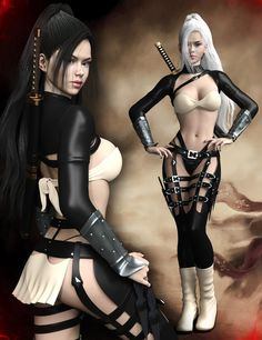 Samurai for Genesis 3 Female(s) | 3D Models and 3D Software by Daz 3D
