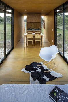 Дизайн интерьера дома от мастерской MAPA в Бразилии