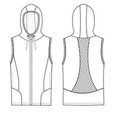 Modelos de ropa profesional. Hazlo tu mism@ Chaleco 2995 DAMA Chalecos