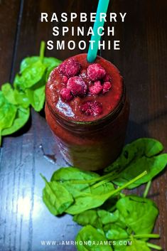 I Am Rhonda James is a recipe site that shares simple and inexpensive dishes to serve your family and friends. Spinach Smoothie Recipes, Berry Smoothie Recipe, Smoothie Recipes For Kids, Protein Smoothie Recipes, Easy Smoothies, Strawberry Smoothie, Fruit Smoothies, Healthy Recipes, Beer Recipes