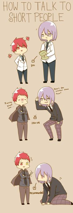 Knb how to talk to short people -knb ver.- by s-haa on DeviantArt