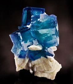 Fluorite with Barite