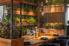 Segev Kitchen Garden by Studio Yaron Tal restaurant design #interior #restaurant #hotspot