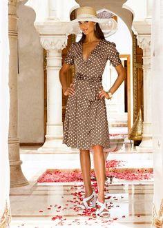 Vestido de bolinhas, um clássico sempre elegante