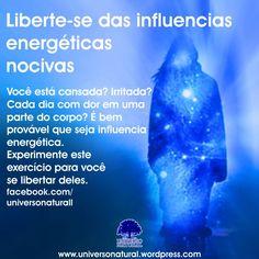 Experimente este breve exercício para você se libertar das influencias energéticas. #mergulhointerior #universonatural #limpezaenergetica #chakra