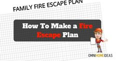 How to Make a Fire Escape Plan for Your Home with Printable PDF Plan Template