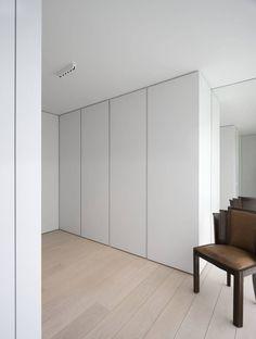 minus, the essence of living (calais) - Josh Moore Minimalism Interior, Home Bedroom, Bedroom Design, Furniture, Interior, Built In Cupboards, Floor To Ceiling Wardrobes, Home Decor, House Interior