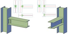 Clip Angle joint from the Beam to Column category