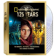 National Geographic 125 Years DVD Collection | National Geographic Store