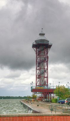 ✯ The Bi-Centennital Tower in Erie Pennsylvania, on Lake Erie