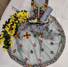 Suits & Dress Materials Modern Chanderi Cotton Suit *TOP*: Chanderi Cotton + Embroidery (2.20 Mtr ) *BOTTOM*: Poly Cotton  + Solid (2.30 Mtr)  *DUPATTA*: Chiffon + Embroidery (2.30 Mtr)   *TYPE*: Un-Stitched *COLOUR*: Multi-Colour *CONTAINS* : 1 TOP, 1 BOTTOM & 1 DUPATTA Sizes Available: Un Stitched   Catalog Rating: ★4 (13505)  Catalog Name: Ethnic Motif Embroidered Chanderi Cotton Suits & Dress Materials (Single Pack) CatalogID_347237 C74-SC1002 Code: 184-4531630-6111