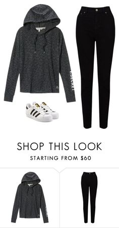"""""""Untitled #587"""" by danieledepaula ❤ liked on Polyvore featuring Victoria's Secret, EAST and adidas Originals"""