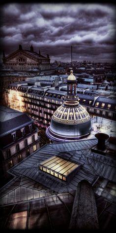 Paris view at Night ~ Christmas Eve