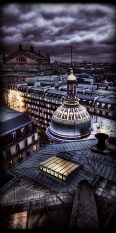 Paris view at Night ~ Christmas Eve