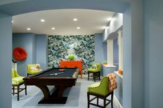 Good Interior Game Room Colors