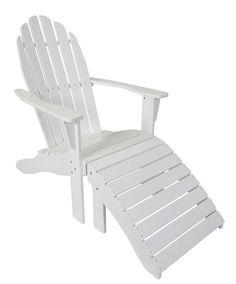 Cinas Rosenborg Loungestol - Hvit - Flott hvilestol med fotskammel. Tilpasset moderne komfort og myke konturer. Stolen er av kraftig mahogni med sterk hvitlakkering for å optimere overflaten til bruk i det skandinaviske klima.