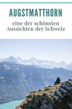 Augstmatthorn: kurze Wanderung ab Lombachalp zum Hardergrat Places In Switzerland, Reisen In Europa, World Traveler, Beautiful Landscapes, Trekking, Adventure Travel, Places To Visit, Hiking, Europe
