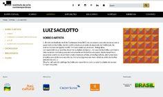"""Todos os artistas do Instituto De Arte Contemporânea estão em nosso site na aba """"artistas"""".  Entre em www.iacbrasil.org.br e veja um pouco mais sobre Luiz Sacilotto.  #iac #institutodeartecontemporânea #SP #muba #arte #art #belasartes #timebelasartes #BA"""