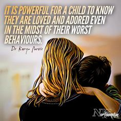 """It is powerful for a child to know they are loved and adored even in the midst of their worst behaviours. Mindful Parenting, Gentle Parenting, Parenting Quotes, Kids And Parenting, Parenting Hacks, Mom Quotes, Quotes For Kids, Kids Health, Children Health"