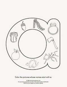 Free beginning sounds worksheets - The Measured Mom Bulgarian Language, Beginning Sounds Worksheets, Dysgraphia, Letter Activities, Special Education, Coloring Pages, Symbols, Letters, Teaching