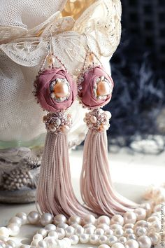 * jardin * unque handmade earrings