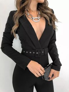 The Best Spring Outfits This Season Now ~ Fashion & Design Elegantes Business Outfit, Elegantes Outfit, Suit Fashion, Look Fashion, Fashion Dresses, 80s Fashion, Korean Fashion, Winter Fashion, Fashion Design