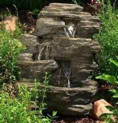 Garden Fountains Small Rocks - Bing Images