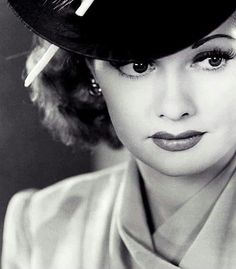 "The talented, beautiful ""Red Head"" Lucille Ball"