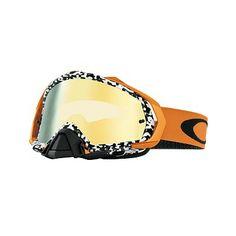 MX Oakley Mayhem Viper Room White Gold è l'ultima proposta di Oakley pensata per l'Offroad. Mayhem ha una linea più aggressiva ed una superficie della lente  maggiorata per consentire la massima protezione e visibilità.