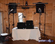 Main level corner setup at Wolf Oak Acres, Oneida, NY