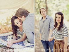 fall engagements with tent. natural Light, nature location.