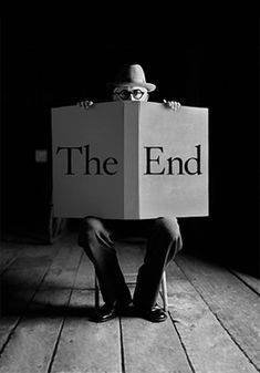 The End (Is Just the Beginning) - From the book by photographer Rodney Smith. @designerwallace