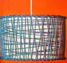 1970s kitsch lampshade