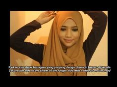 2 Minutes Simple Everyday Hijab Style - YouTube - Hijab / jilbab Tutorial