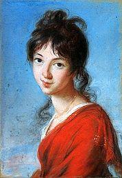 Princesse Teresa Czartoryska - Élisabeth Vigée-Lebrun - The Athenaeum Female Portrait, Female Art, Teresa, Female Painters, Hermitage Museum, Elisabeth, Portraits, French Art, Art Pages
