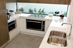 Haven MKII - Kitchen with Smartstone benchtops & Delonghi Appliances