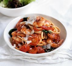 A healthy, Italian-style supper that's on the table in under 30 min? Mamma would be proud