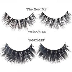 A sneak peek at what we're working on ➢ 'The New Me' vs 'Fearless' ➢ Which style do you like more?