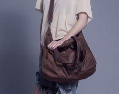 Sholuder Bag, Leather Shoulder Bag, Large Sholuder Bag, Leather weekend bag,Brown leather shoulder bag, Leather laptop shoulder bag - Edit Listing - Etsy