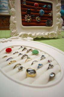 DIY jewelry displays