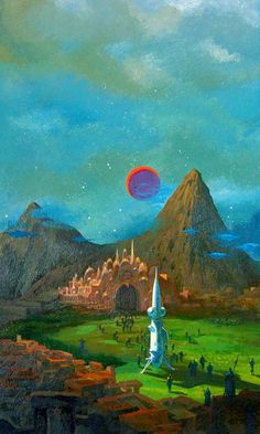 PAUL LEHR - art for The Ramsgate Paradox by Stephen Tall - 1976 Berkley Medallion