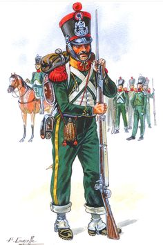 1er régiment étranger Empire, Military Art, Military History, Battle Of Waterloo, Army Uniform, French Army, French Revolution, Napoleonic Wars, Troops