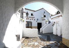真っ白な壁にテラコッタ。地中海の街並みにまぎれこんだかのよう。周りに広がる青が美しい英虞湾の海が、地中海にいるかのような錯覚をおこします。 白壁にカラフルな花々が並び、どこを切り取っても絵になる風景が続きます。