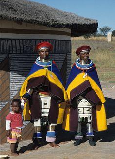 Ndebele women - Ndebele Village, Gauteng