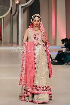 Zainab Chottani Collection At Pakistan Bridal Couture Week 2013