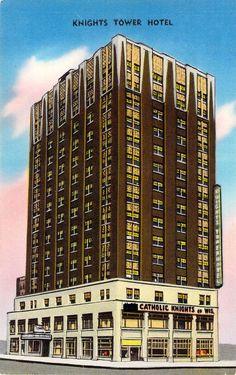 Knights Tower Hotel  Milwaukee WI