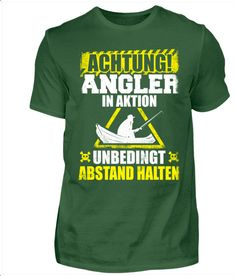 Kleidung & Accessoires Flight Tracker Cooles Angel Fun T-shirt Think Big Bedruckt Fischen Angeln Fishing